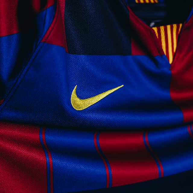 Nike 20th Barca Shirt