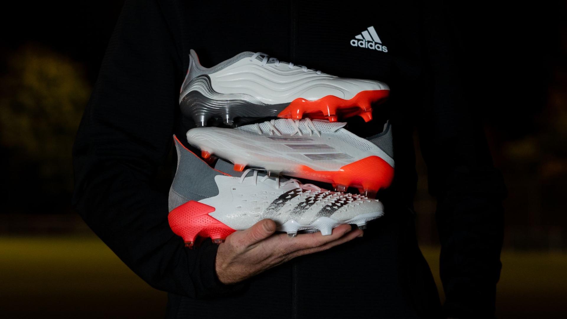 Jouw seizoen krijgt een refresh door het adidas White Spark Pack