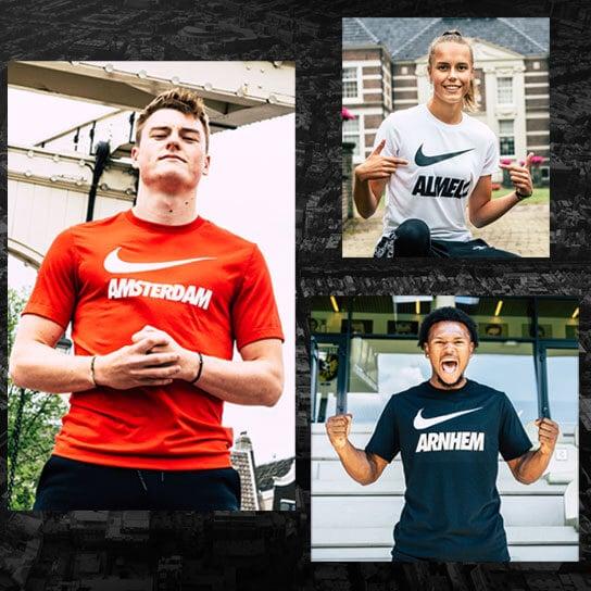 Voor de stad van Voetbalshop! Een exclusieve collectie van Nike & Voetbalshop