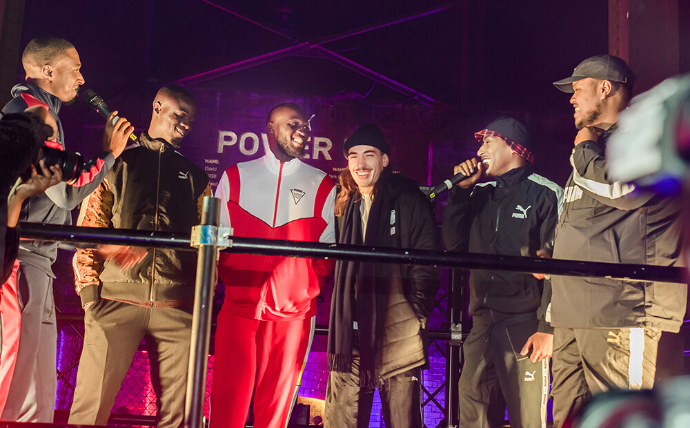 PUMA Power UP Launch Event