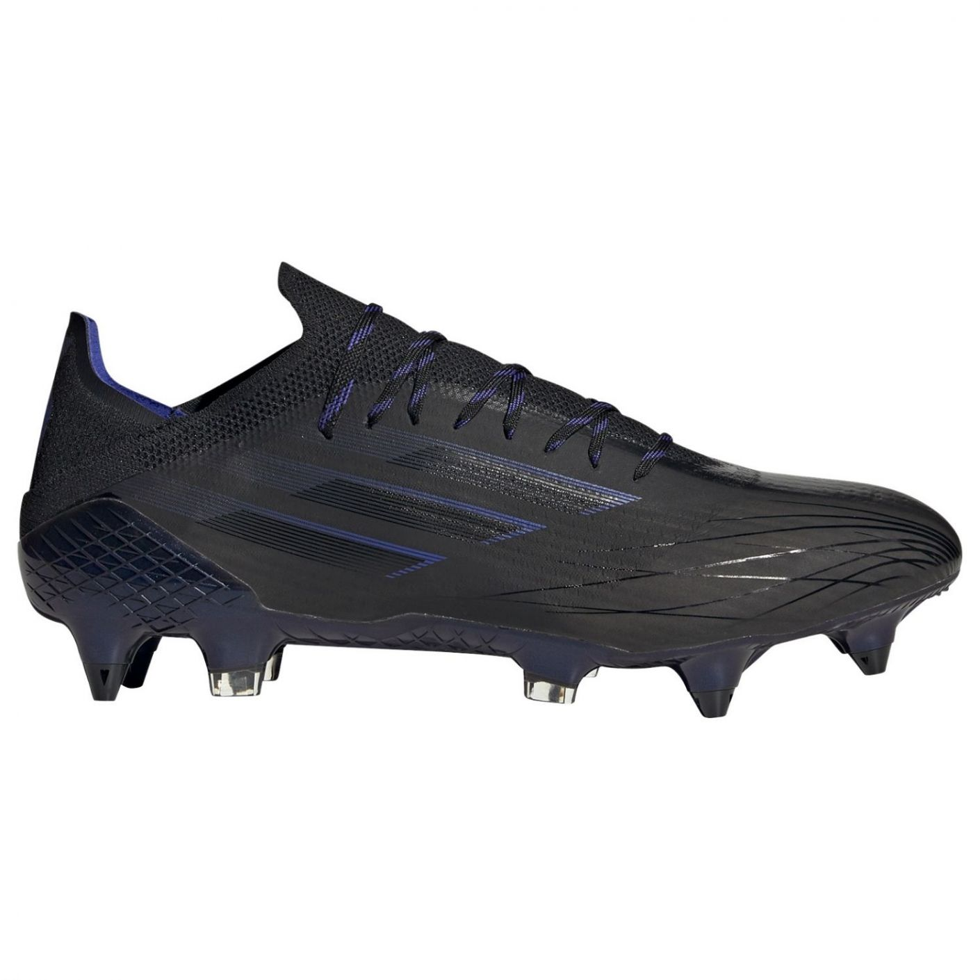 adidas X Speedflow.1 Ijzeren-nop Voetbalschoenen (SG) Zwart Blauw Geel