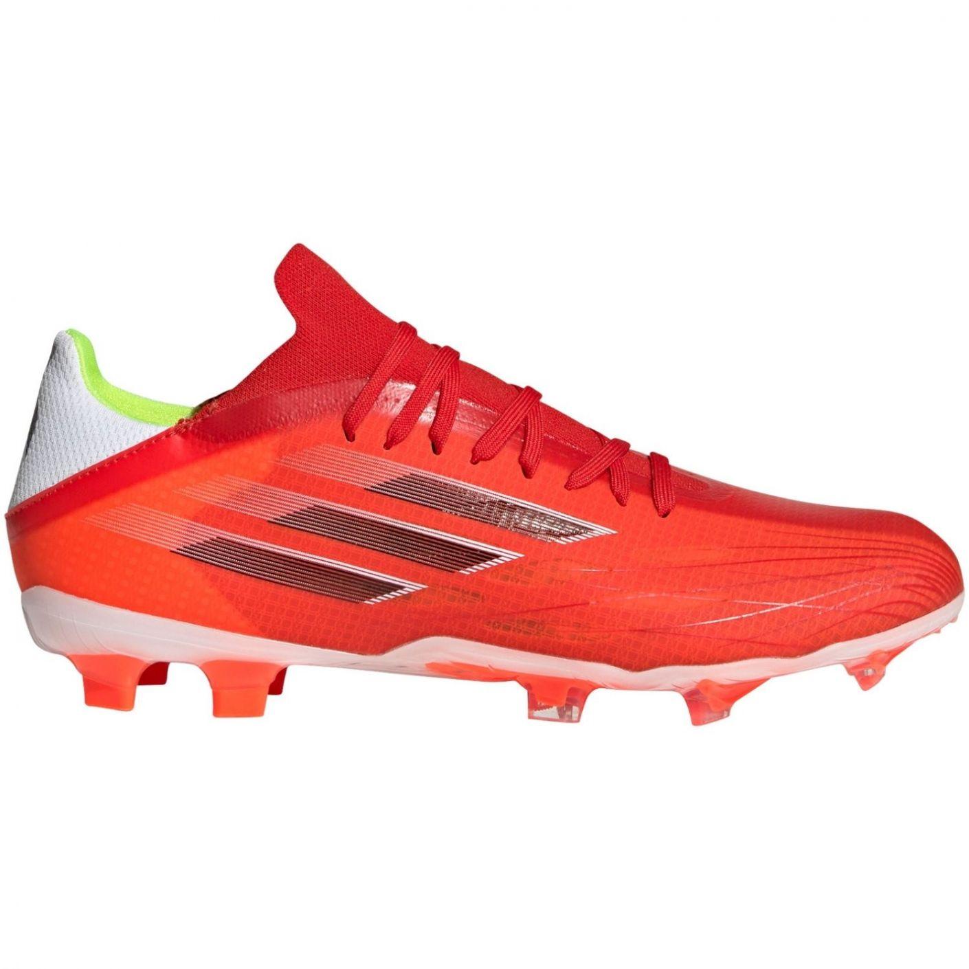 adidas X Speedflow.2 Gras Voetbalschoenen (FG) Rood Zwart Rood