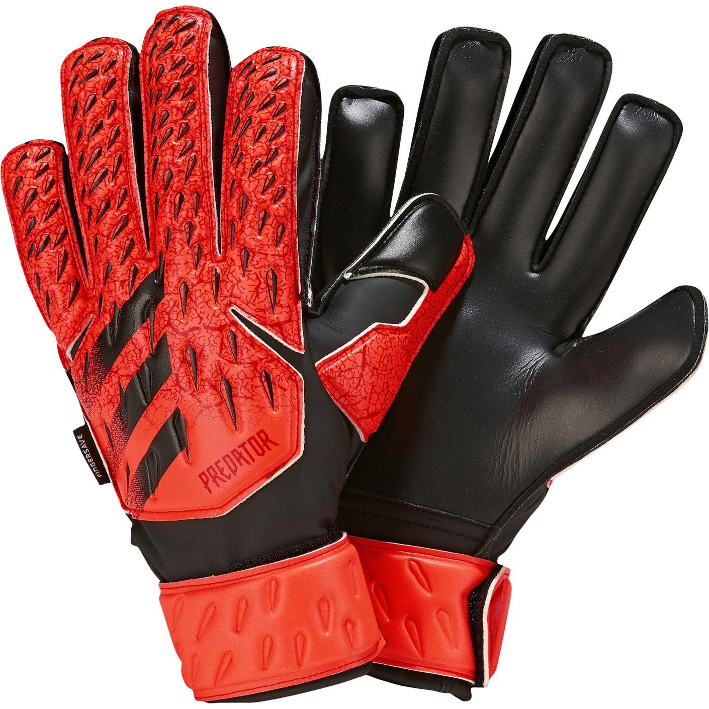 adidas Predator Keepershandschoenen Match FS Kids Rood Zwart