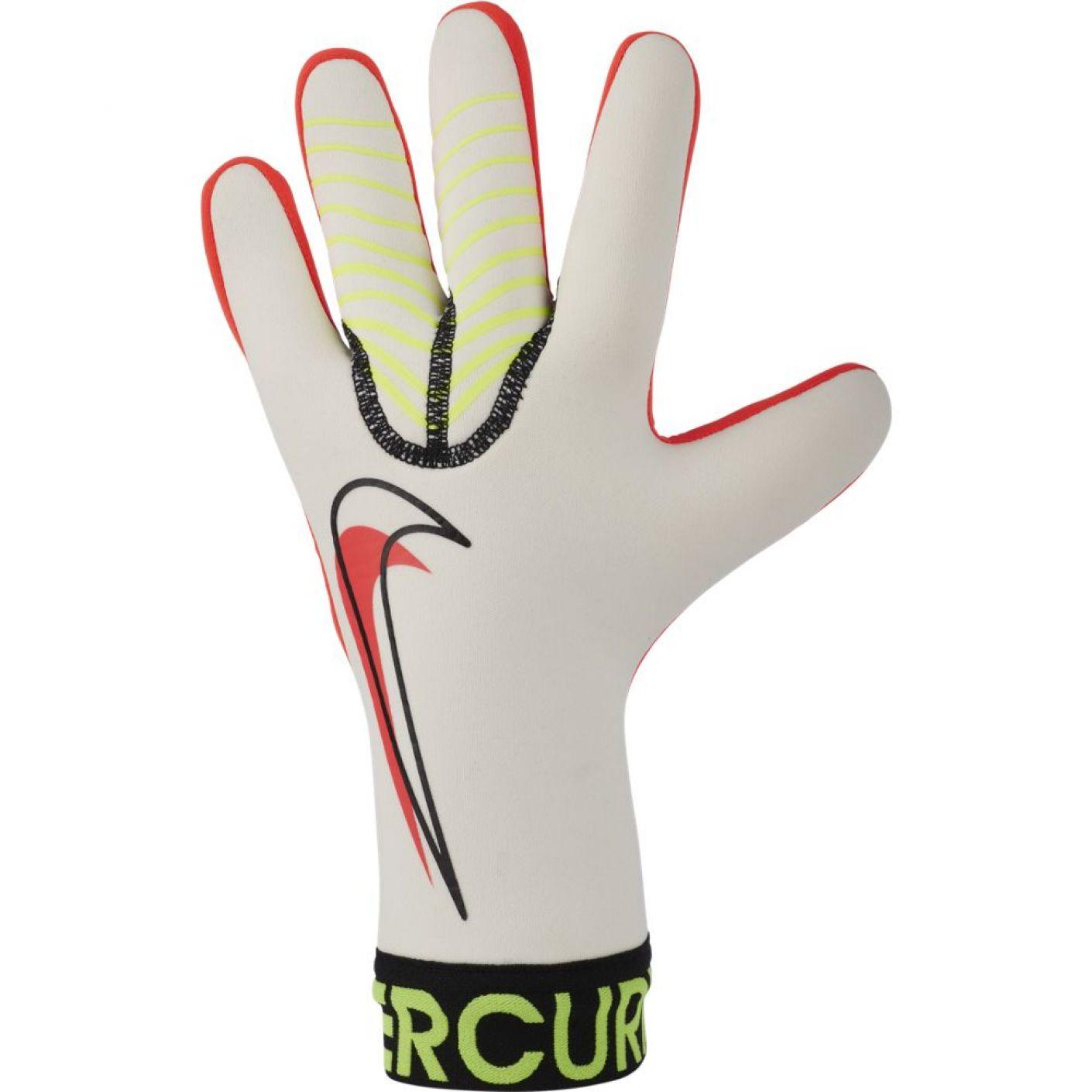 Nike Keepershandschoenen Mercurial Touch Victory Wit Geel Rood