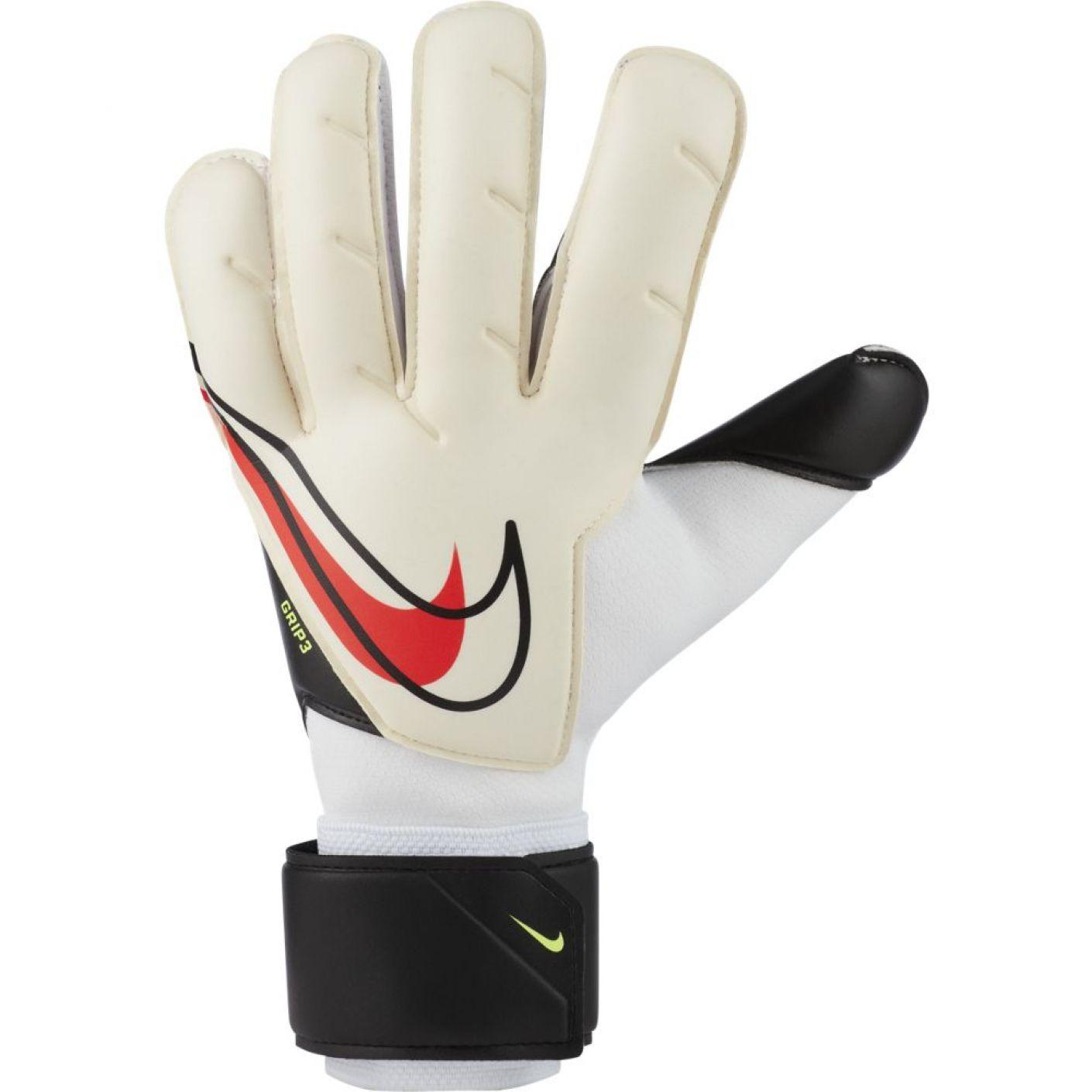 Nike Keepershandschoenen Grip 3 Wit Zwart Rood