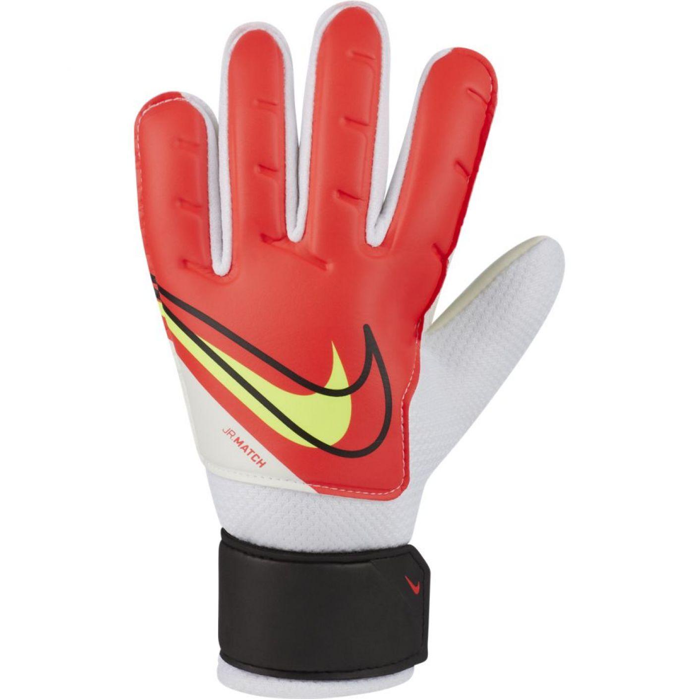 Nike Keepershandschoenen Match Kids Rood Zwart Geel