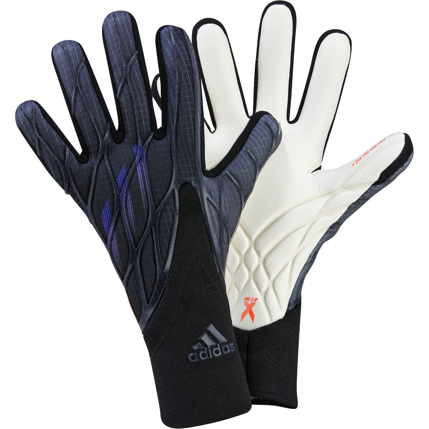 adidas X Keepershandschoenen Pro Zwart Grijs Donkerblauw