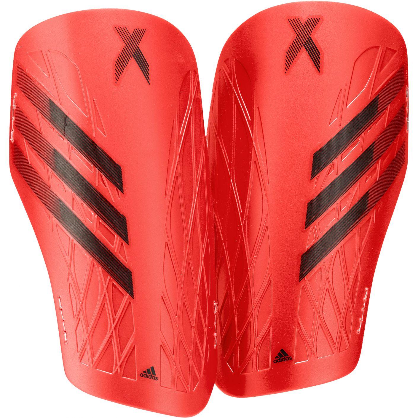 adidas X Scheenbeschermers Training Rood Wit Geel