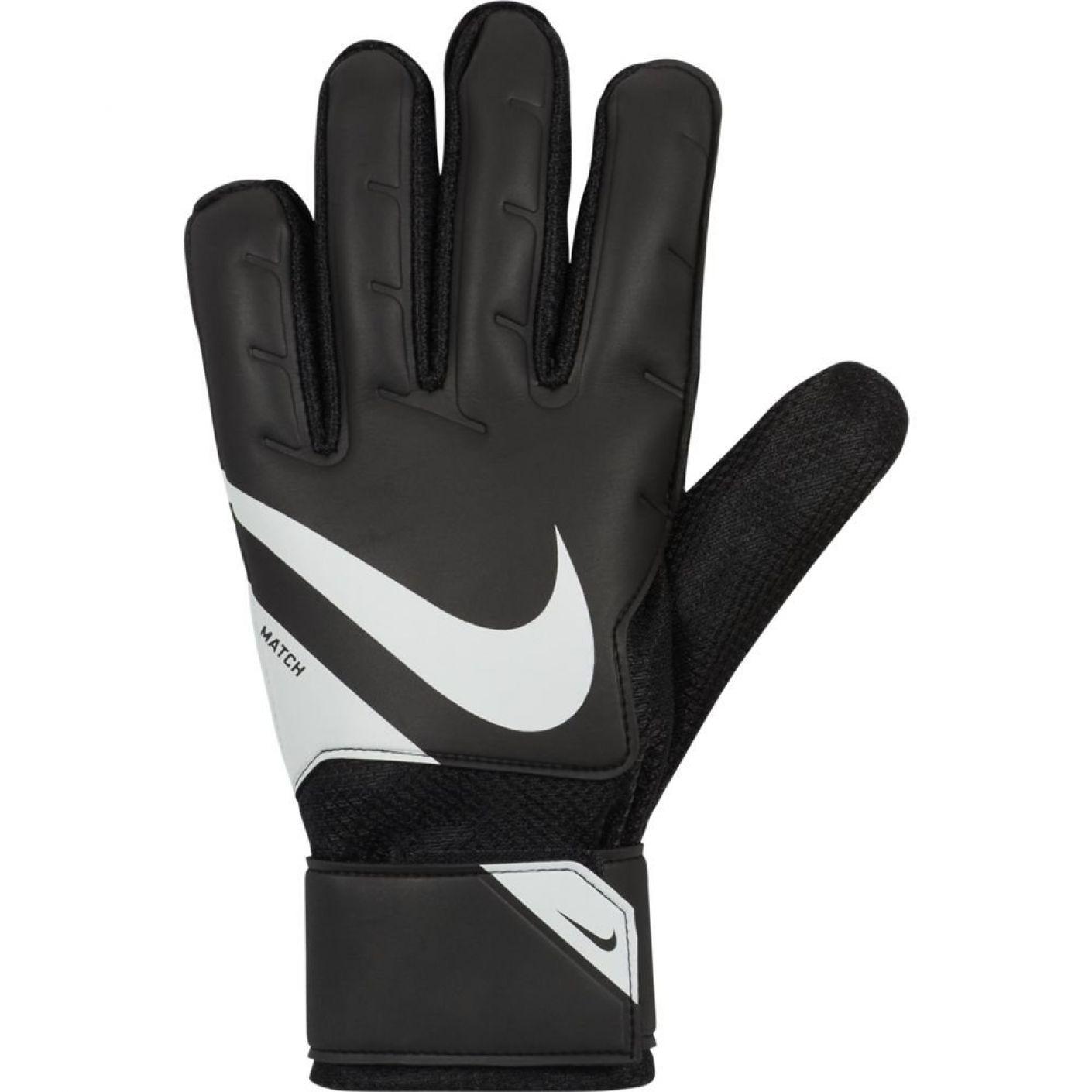 Nike Match Keepershandschoenen Zwart Wit Wit