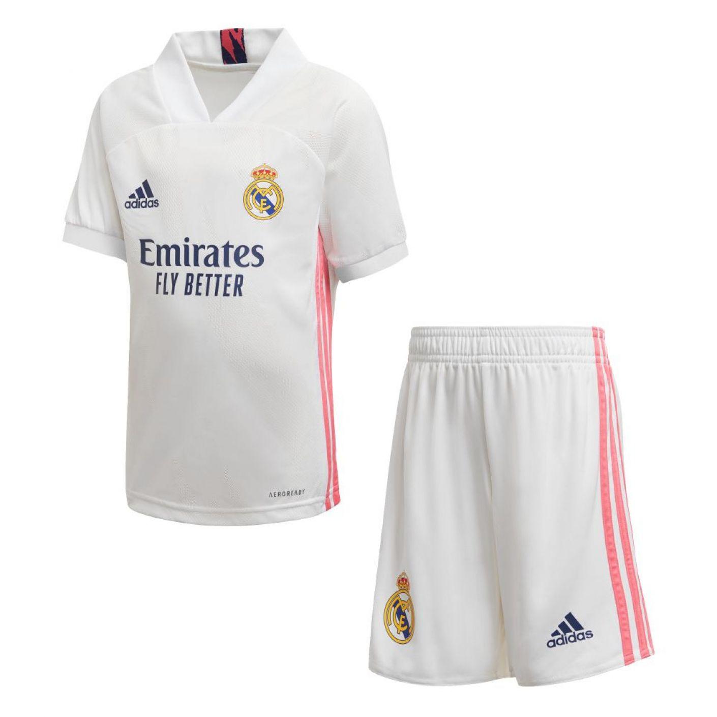 adidas Real Madrid Thuis Minikit 2020-2021