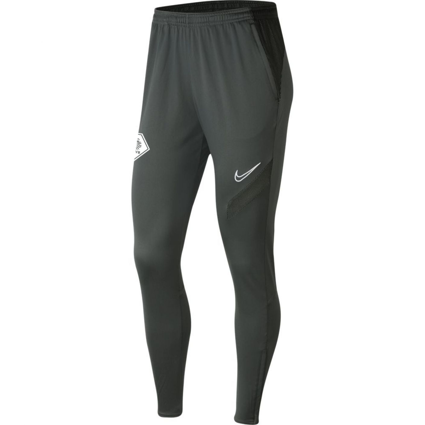 Nike KNVB Academy Pro Trainingsbroek Vrouwen Antraciet Zwart
