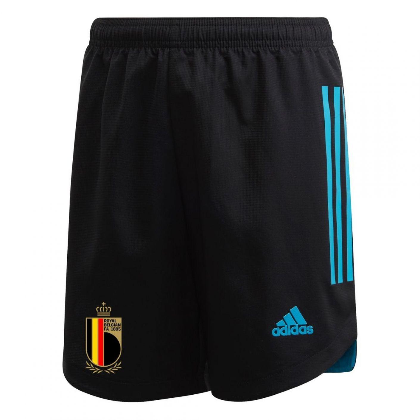 adidas Belgie Keepersbroekje 2020 Kids Zwart Blauw