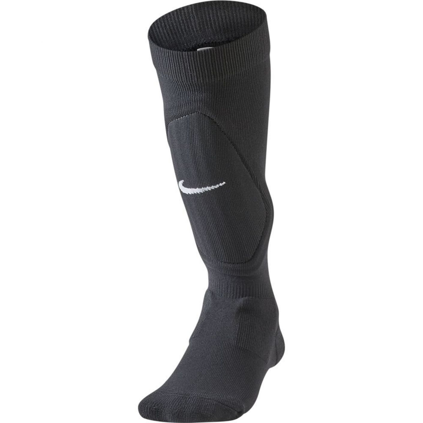 Nike Shin Scheenbeschermer Sleeve Kids Zwart Wit