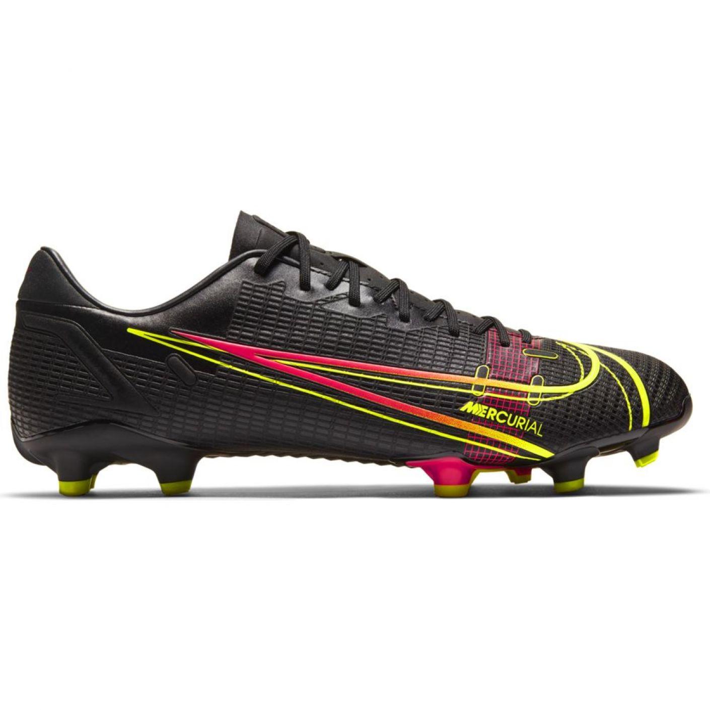 Nike Mercurial Vapor 14 Academy Gras / Kunstgras Voetbalschoenen (MG) Zwart Geel