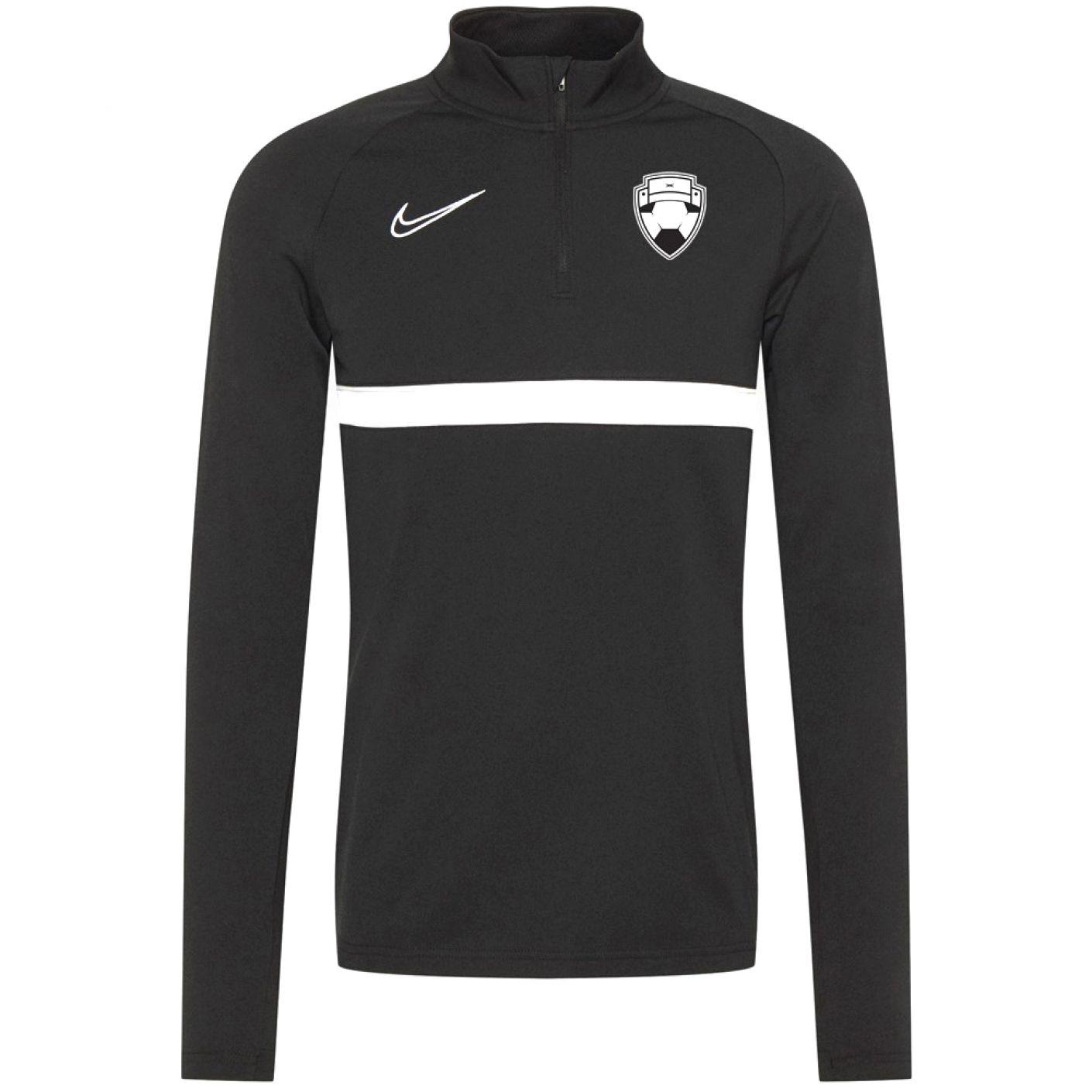 Nike Bankzitters Trainingstrui Zwart Wit