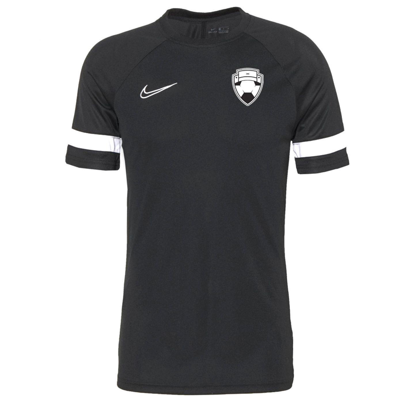 Nike Bankzitters Trainingsshirt Kids Zwart Wit