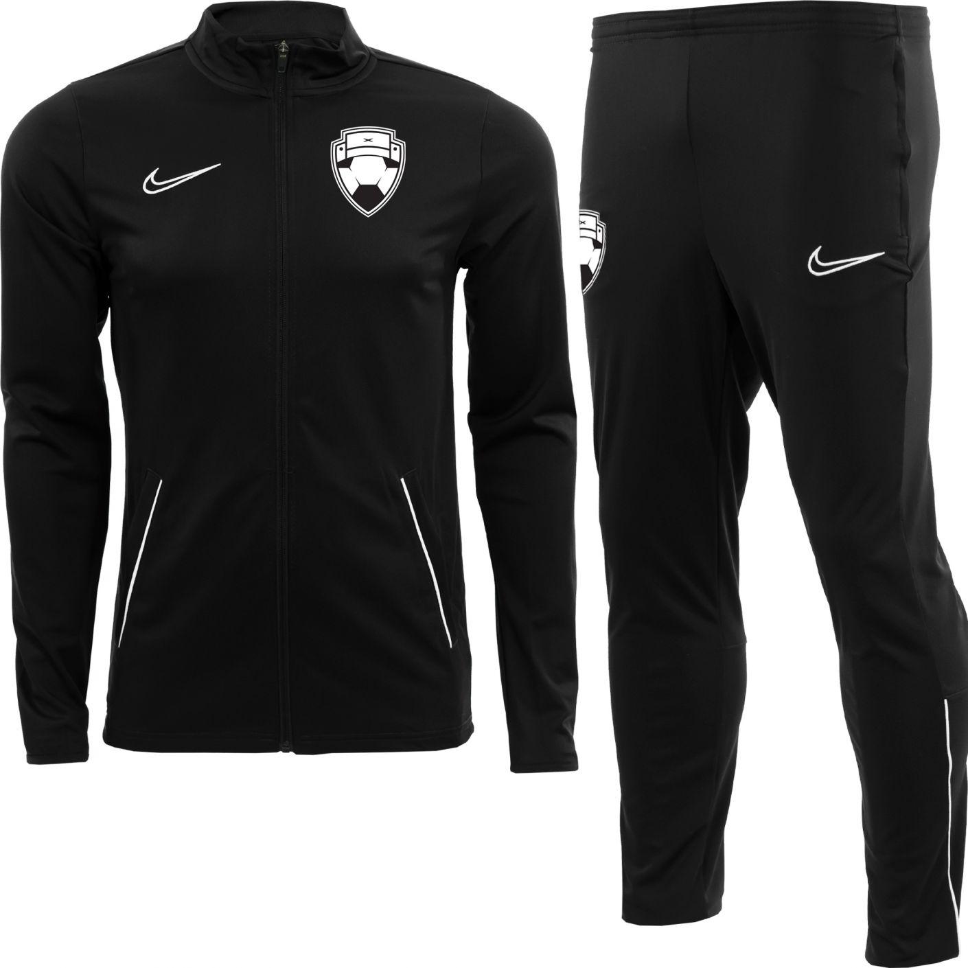 Nike Bankzitters Trainingspak Kids Zwart Wit
