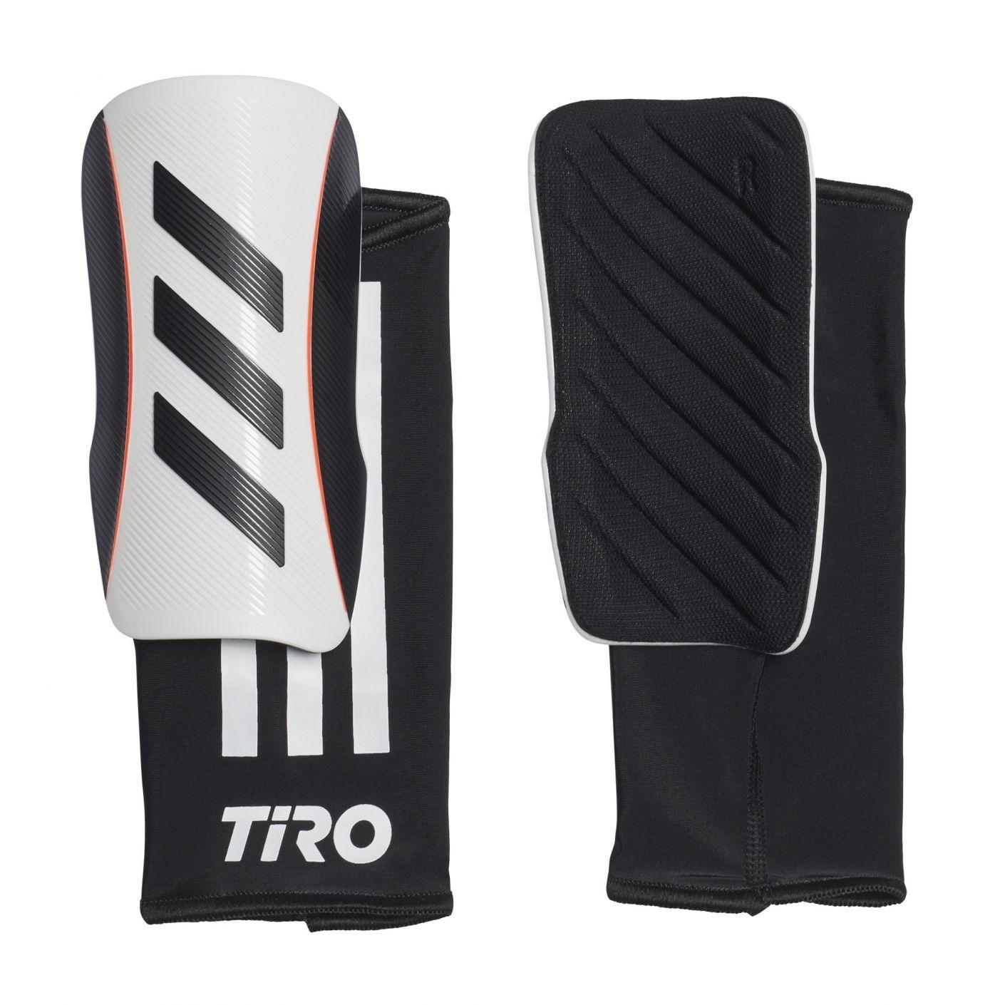 adidas Tiro League Scheenbeschermers Wit Zwart Rood