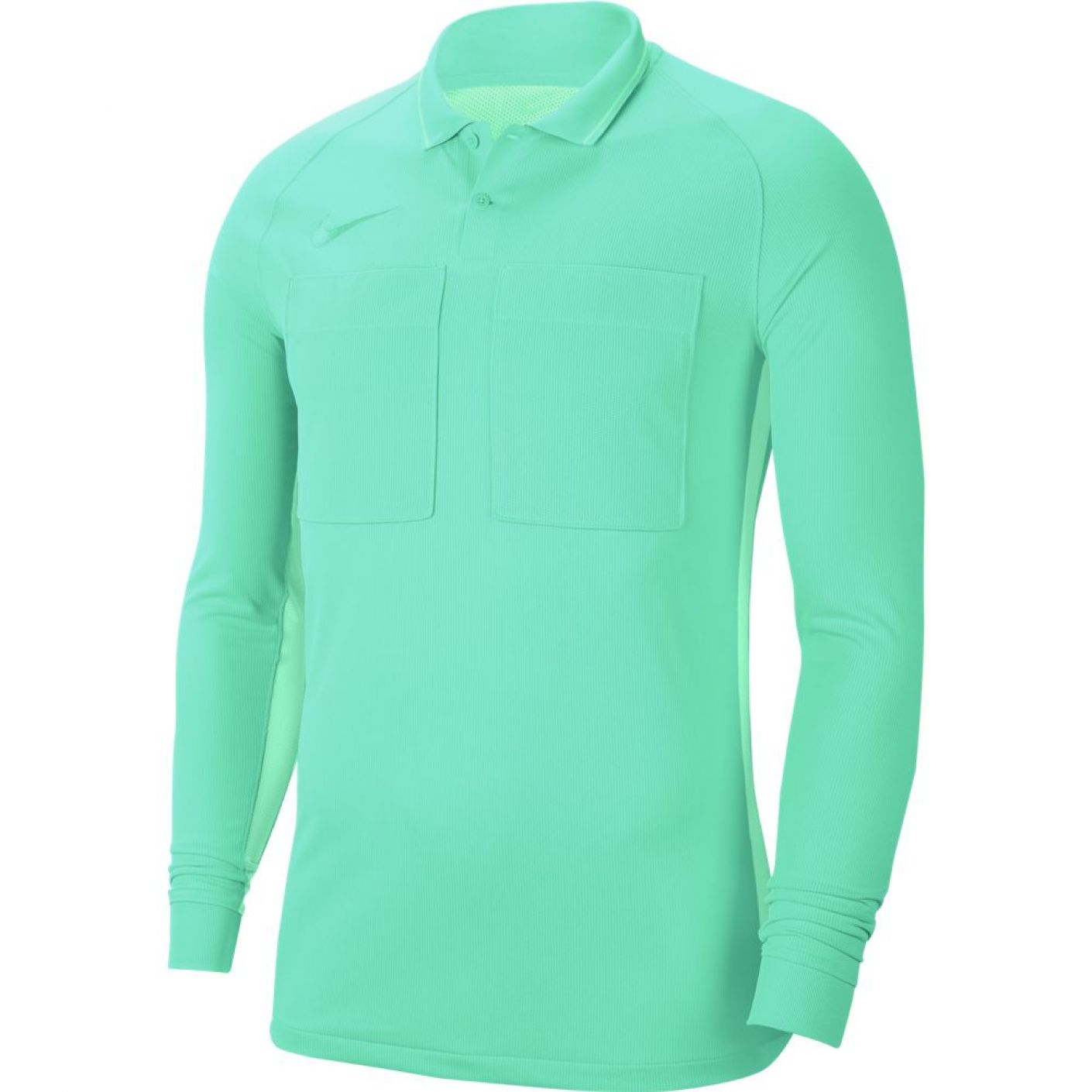 Nike Dry Scheidsrechtersshirt Lange Mouwen Turquoise