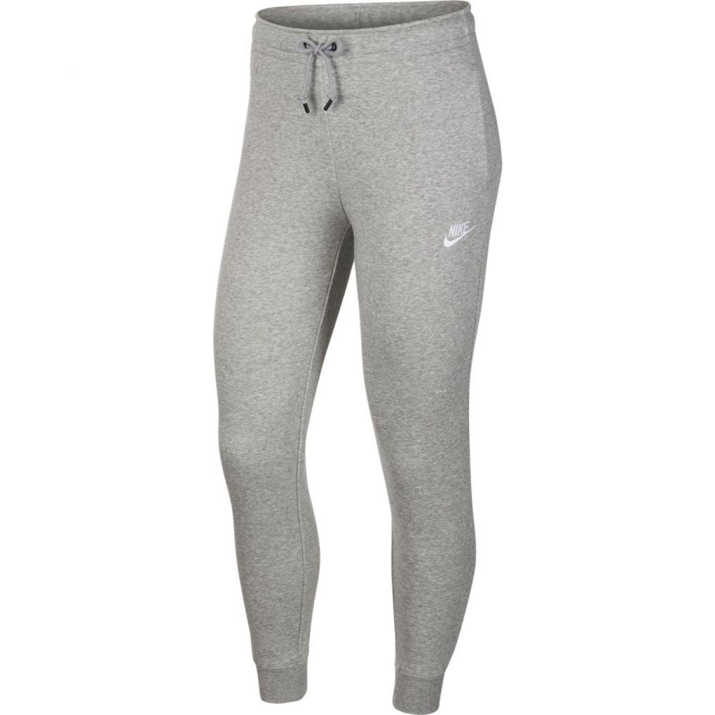 Nike Sportswear Essential Joggingbroek Vrouwen Grijs Wit