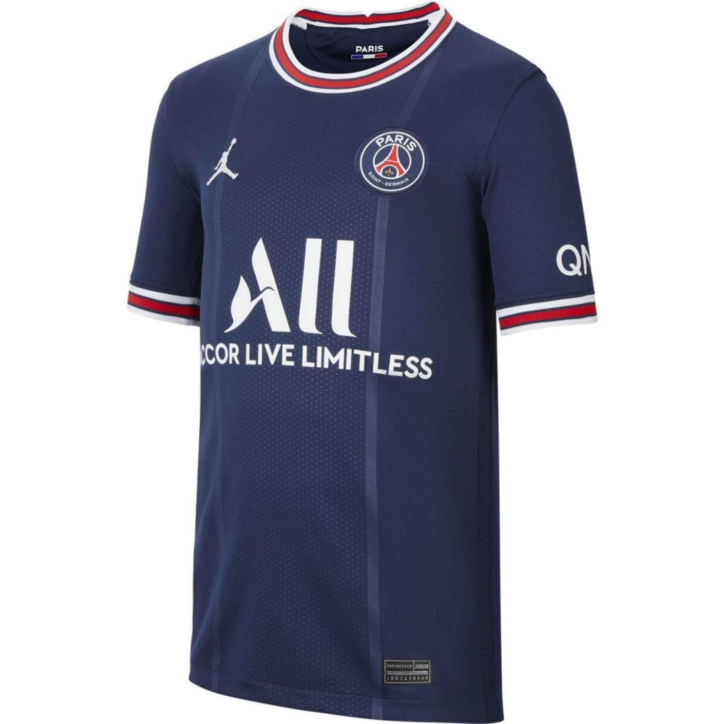 Nike Paris Saint Germain Thuisshirt 2021-2022 Kids