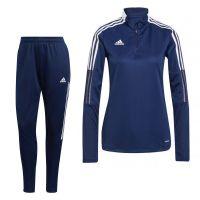 adidas Tiro 21 Trainingspak Vrouwen Donkerblauw