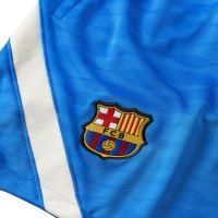 Nike FC Barcelona Strike Trainingsset 2021-2022 Kids Blauw Lichtgrijs
