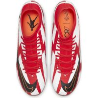 Nike Mercurial Superfly 8 Academy CR7 Gras / Kunstgras Voetbalschoenen (MG) Rood Zwart Wit Oranje