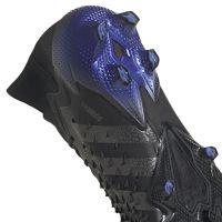 adidas Predator Freak.1 Gras Voetbalschoenen (FG) Zwart Donkergrijs Blauw