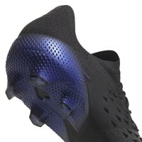 adidas Predator Freak.1 Low Gras Voetbalschoenen (FG) Zwart Donkergrijs Blauw