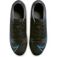 Nike Mercurial Vapor 14 Academy Gras / Kunstgras Voetbalschoenen (MG) Zwart Donkergrijs