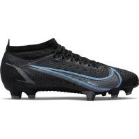 Nike Mercurial Vapor 14 Pro Gras Voetbalschoenen (FG) Zwart Donkergrijs