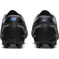 Nike Mercurial Vapor 14 Academy Gras / Kunstgras Voetbalschoenen (MG) Kids Zwart Donkergrijs