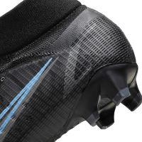 Nike Mercurial Superfly 8 Pro Gras Voetbalschoenen (FG) Zwart Donkergrijs