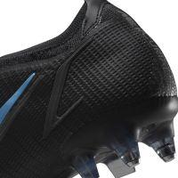 Nike Mercurial Vapor 14 Elite Ijzeren-Nop Voetbalschoenen (SG) Anti-Clog Zwart Donkergrijs