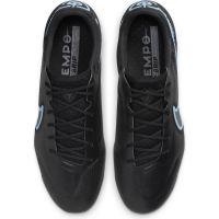 Nike Tiempo Legend 9 Elite Gras Voetbalschoenen (FG) Zwart Donkergrijs