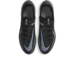 Nike Phantom GT 2 Elite Gras Voetbalschoenen (FG) Zwart Donkergrijs