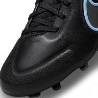 Nike Tiempo Legend 9 Pro Gras Voetbalschoenen (FG) Zwart Blauw
