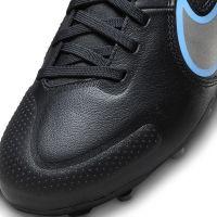 Nike Tiempo Legend 9 Academy Gras / Kunstgras Voetbalschoenen (MG) Kids Zwart Blauw