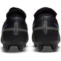 Nike Phantom GT 2 Academy DF Gras / Kunstgras Voetbalschoenen (MG) Zwart Donkergrijs