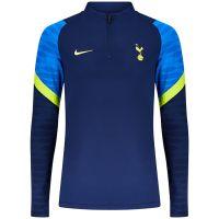 Nike Tottenham Hotspur Strike Drill Trainingstrui 2021-2022 Donkerblauw Blauw Geel