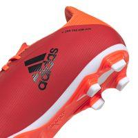 adidas X Speedflow.4 Gras / Kunstgras Voetbalschoenen (FxG) Rood Zwart Rood