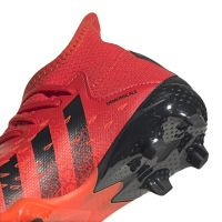 adidas Predator Freak.3 Gras Voetbalschoenen (FG) Kids Rood Zwart Rood