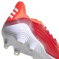adidas Copa Sense.1 Gras Voetbalschoenen (FG) Rood Wit Rood