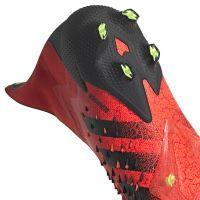 adidas Predator Freak+ Gras Voetbalschoenen (FG) Rood Zwart Rood