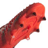 adidas Predator Freak.1 Ijzeren-Nop Voetbalschoenen (SG) Rood Zwart Rood