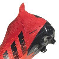 adidas Predator Freak.3 LL Gras Voetbalschoenen (FG) Kids Rood Zwart Rood