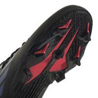 adidas X Speedflow.3 Gras Voetbalschoenen (FG) Kids Zwart Blauw Geel