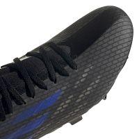 adidas X Speedflow.3 Gras Voetbalschoenen (FG) Zwart Blauw Geel