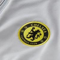 Nike Chelsea Strike Trainingstrui 2021-2022 Grijs Geel Zwart